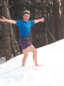 préparation mentale pour supporter le contact avec la neige